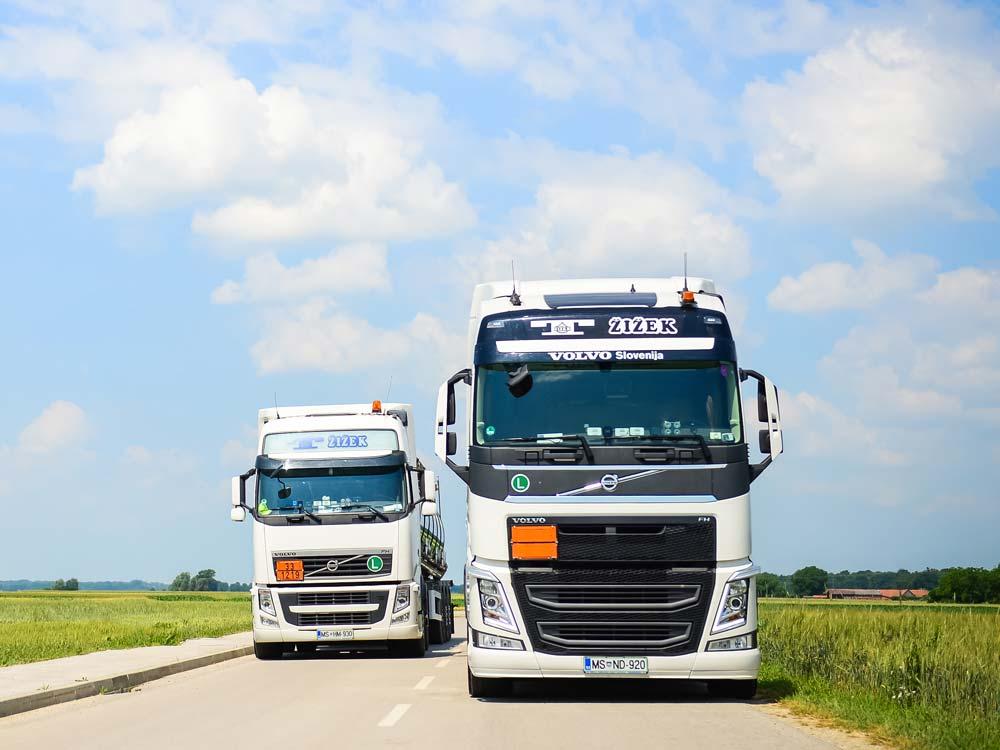 Transporti Žižek - vaš zanesljiv partner
